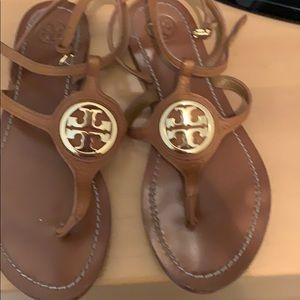 Authentic Tory Burch Saddle sandals
